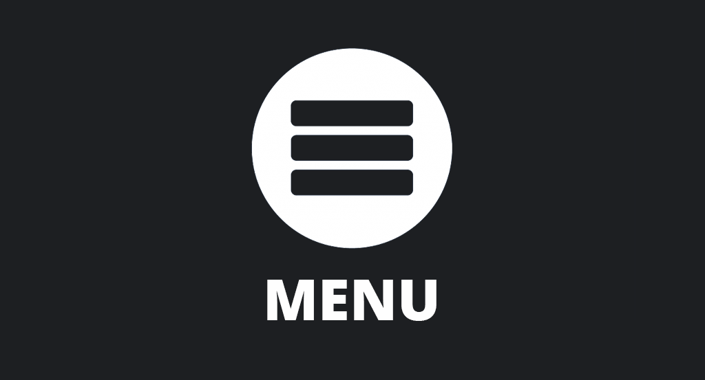 Less is a bore:  The Hamburger Menu
